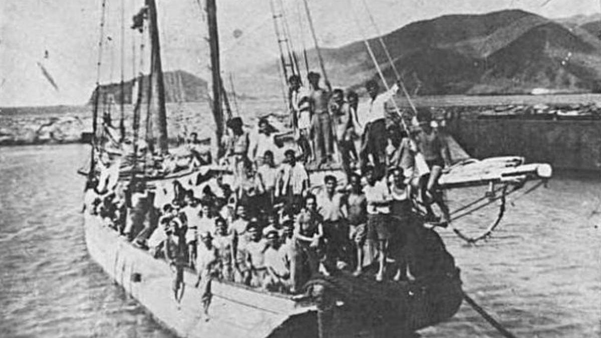 El barco Telémaco fue un símbolo de la emigración ilegal canaria a Venezuela