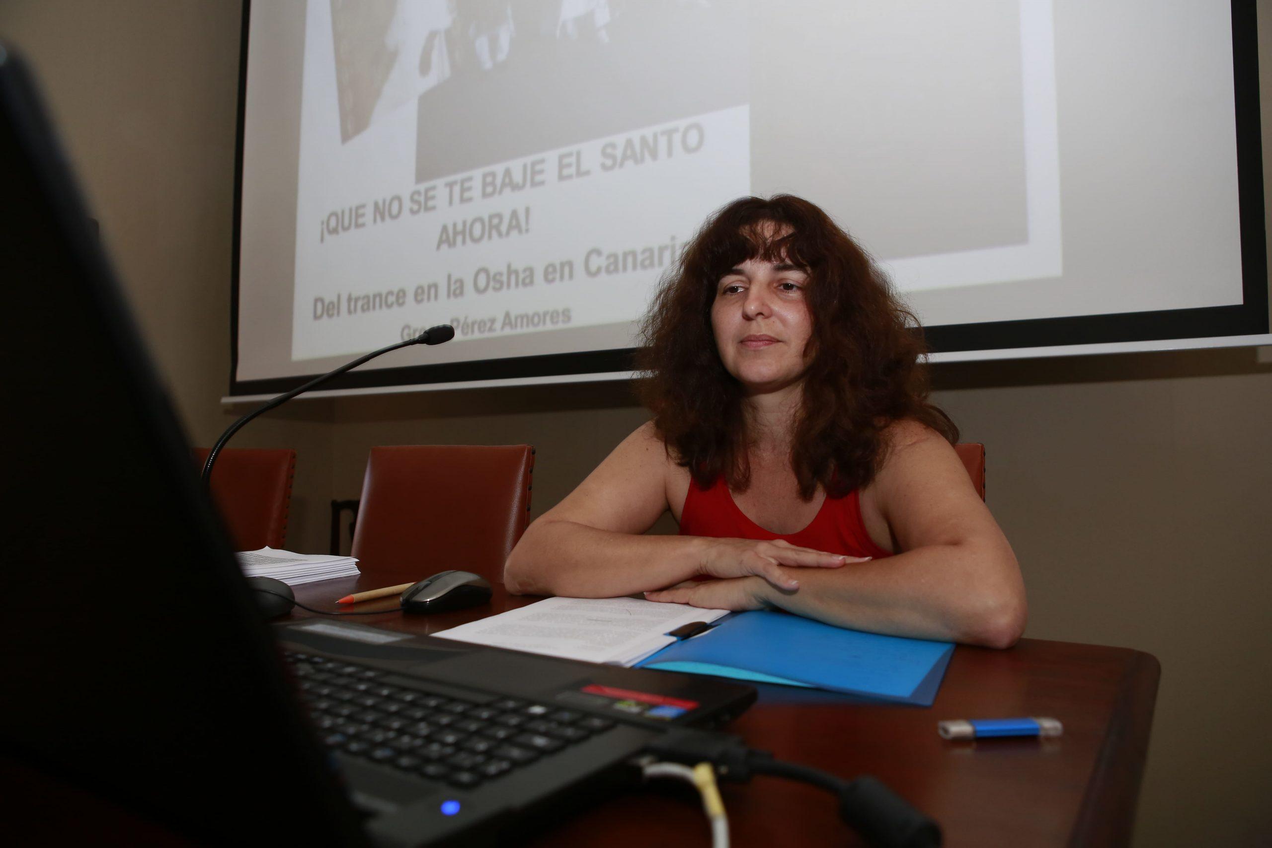La antropóloga cubana Grecy Pérez