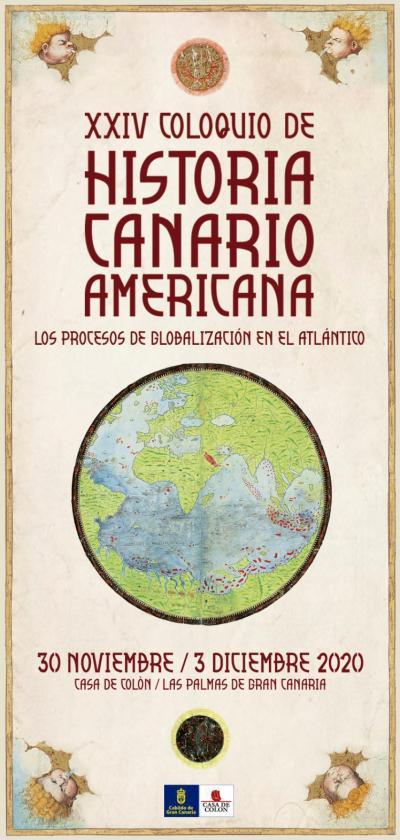 Cartel de la XXIV edición del Coloquio de Historia Canario-Americana